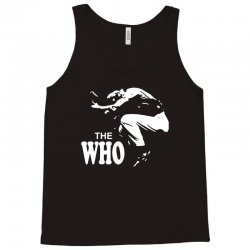 the who stencil Tank Top | Artistshot