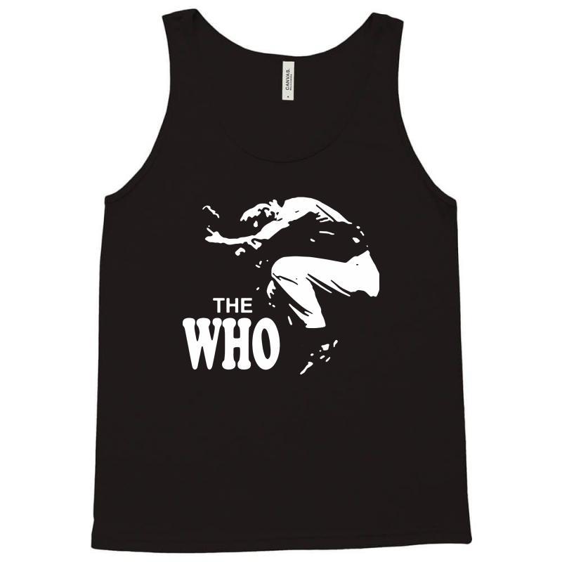 The Who Stencil Tank Top   Artistshot