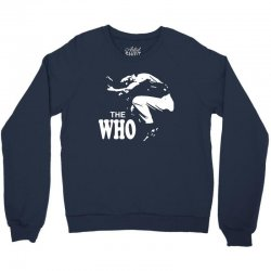 the who stencil Crewneck Sweatshirt | Artistshot
