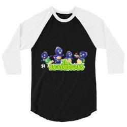Pablo Backyardigans 3/4 Sleeve Shirt | Artistshot