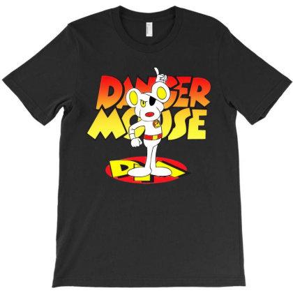 Danger Mouse Cartoon 1 T-shirt Designed By Richardakuntz