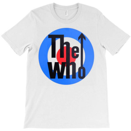 The Who T-shirt Designed By Bettyaclark