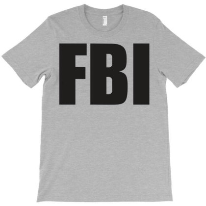 Fbi T-shirt Designed By Thelmaaabreu