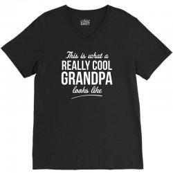 really cool grandpa V-Neck Tee | Artistshot