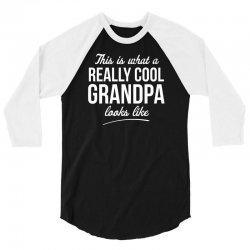 really cool grandpa 3/4 Sleeve Shirt | Artistshot