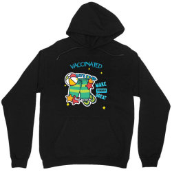 vaccinated lets go to the beach Unisex Hoodie   Artistshot