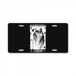 band metal with grim reaper License Plate | Artistshot