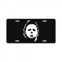 movies horror License Plate | Artistshot