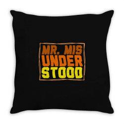 mr misunderstood Throw Pillow | Artistshot
