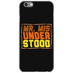 mr misunderstood iPhone 6/6s Case | Artistshot