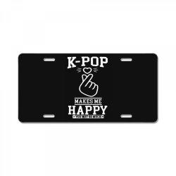 pop korea asia License Plate | Artistshot