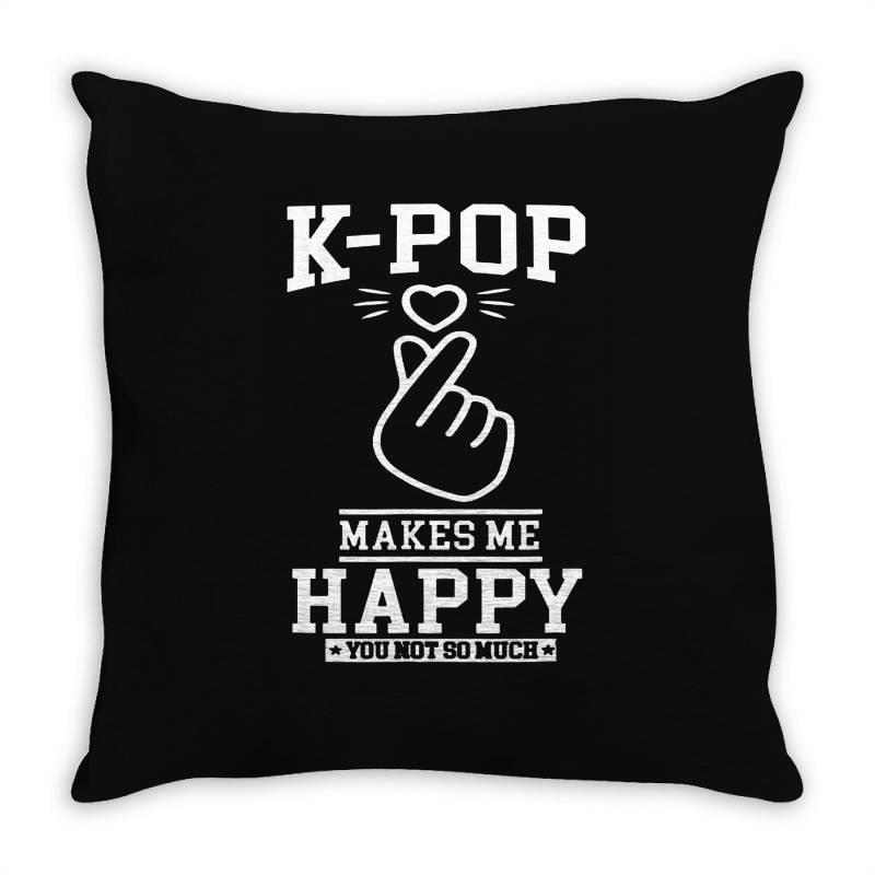 Pop Korea Asia Throw Pillow | Artistshot