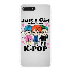 korean pop just a girl who loves iPhone 7 Plus Case | Artistshot