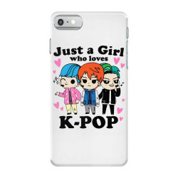 korean pop just a girl who loves iPhone 7 Case | Artistshot