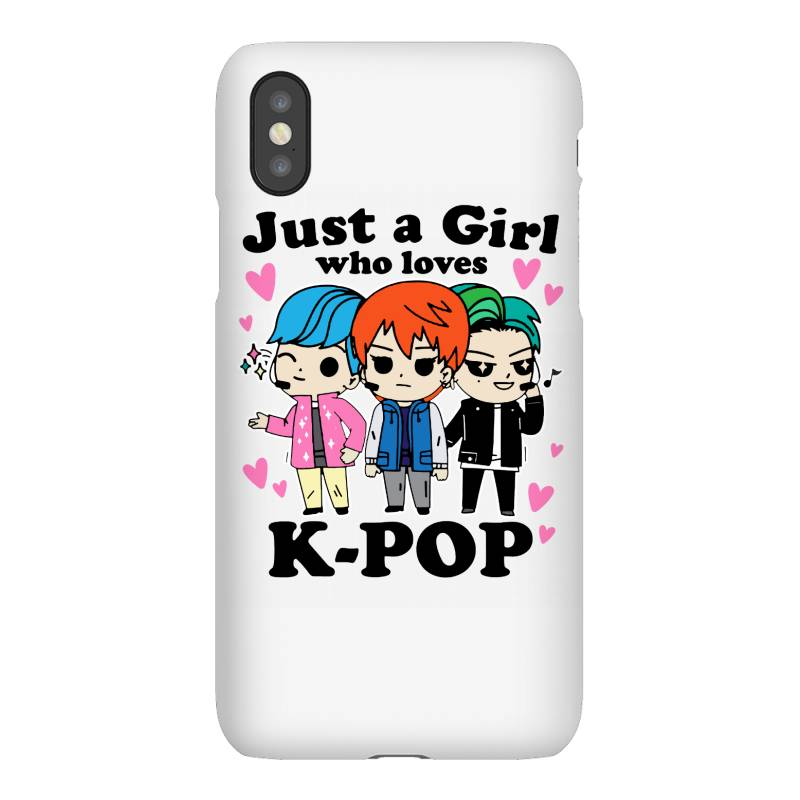 Korean Pop Just A Girl Who Loves Iphonex Case | Artistshot