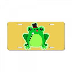 Mr Amfibi Frog License Plate | Artistshot