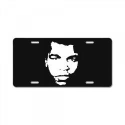 the legend boxing License Plate   Artistshot