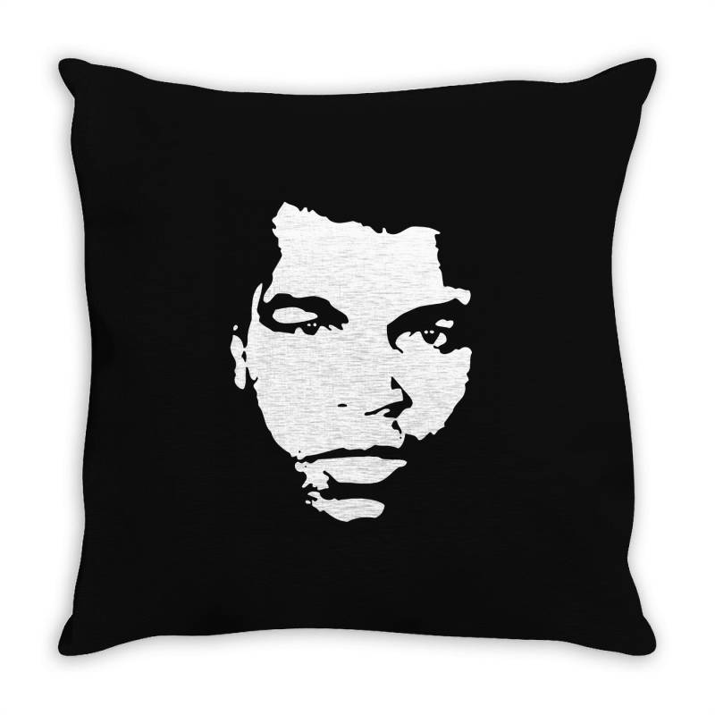 The Legend Boxing Throw Pillow   Artistshot