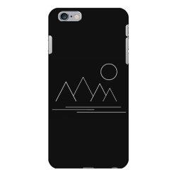 mountains and sun iPhone 6 Plus/6s Plus Case | Artistshot