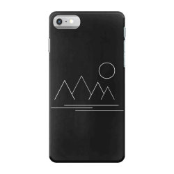 mountains and sun iPhone 7 Case | Artistshot