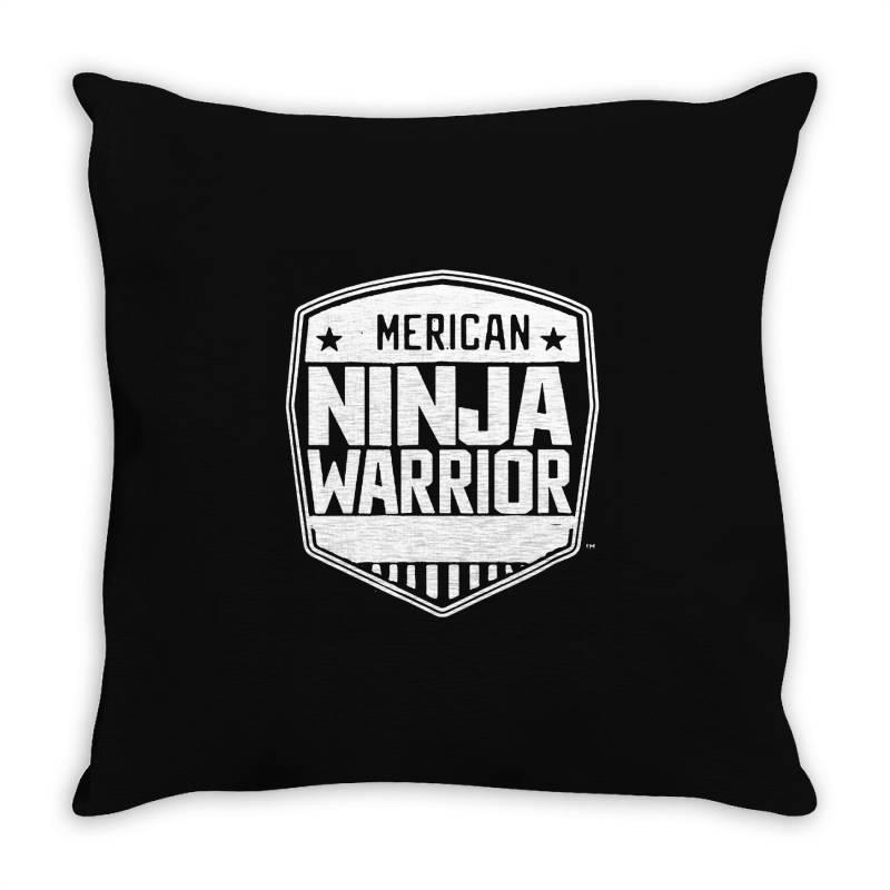 American Ninja Warrior Throw Pillow | Artistshot