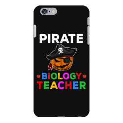 pirate teacher funny halloween gift for biology teacher cute iPhone 6 Plus/6s Plus Case | Artistshot