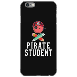 pirate student funny halloween party gift for kids students iPhone 6/6s Case | Artistshot