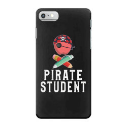 pirate student funny halloween party gift for kids students iPhone 7 Case | Artistshot