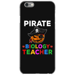 pirate teacher funny halloween gift for biology teacher cute iPhone 6/6s Case | Artistshot