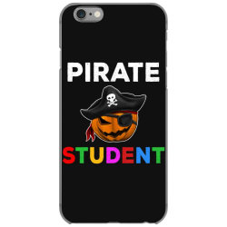 pirate student funny halloween party gift for school student iPhone 6/6s Case | Artistshot