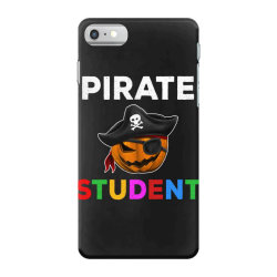 pirate student funny halloween party gift for school student iPhone 7 Case | Artistshot