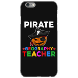 pirate teacher funny halloween gift for geography teacher iPhone 6/6s Case | Artistshot