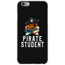 pirate student funny halloween party gift for kids school iPhone 6/6s Case | Artistshot