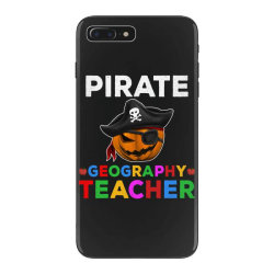 pirate teacher funny halloween gift for geography teacher iPhone 7 Plus Case | Artistshot