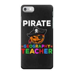 pirate teacher funny halloween gift for geography teacher iPhone 7 Case | Artistshot