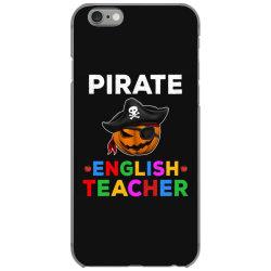 pirate teacher funny halloween gift for english teacher iPhone 6/6s Case | Artistshot