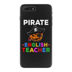 pirate teacher funny halloween gift for english teacher iPhone 7 Plus Case | Artistshot