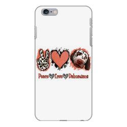 Peace Love Dalmatians iPhone 6 Plus/6s Plus Case   Artistshot