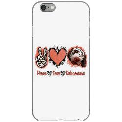 Peace Love Dalmatians iPhone 6/6s Case   Artistshot