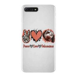 Peace Love Dalmatians iPhone 7 Plus Case   Artistshot
