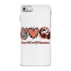 Peace Love Dalmatians iPhone 7 Case   Artistshot