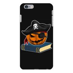 pirate pumpkin book reader gifts women men kids halloween iPhone 6 Plus/6s Plus Case | Artistshot