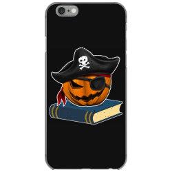 pirate pumpkin book reader gifts women men kids halloween iPhone 6/6s Case | Artistshot