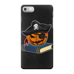 pirate pumpkin book reader gifts women men kids halloween iPhone 7 Case | Artistshot