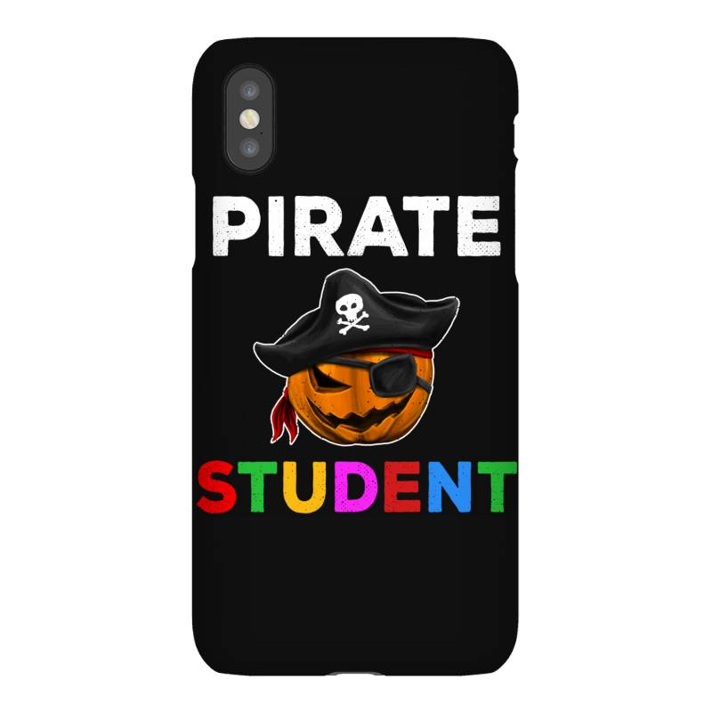 Pirate Student Funny Halloween Party Gift For School Student Iphonex Case   Artistshot
