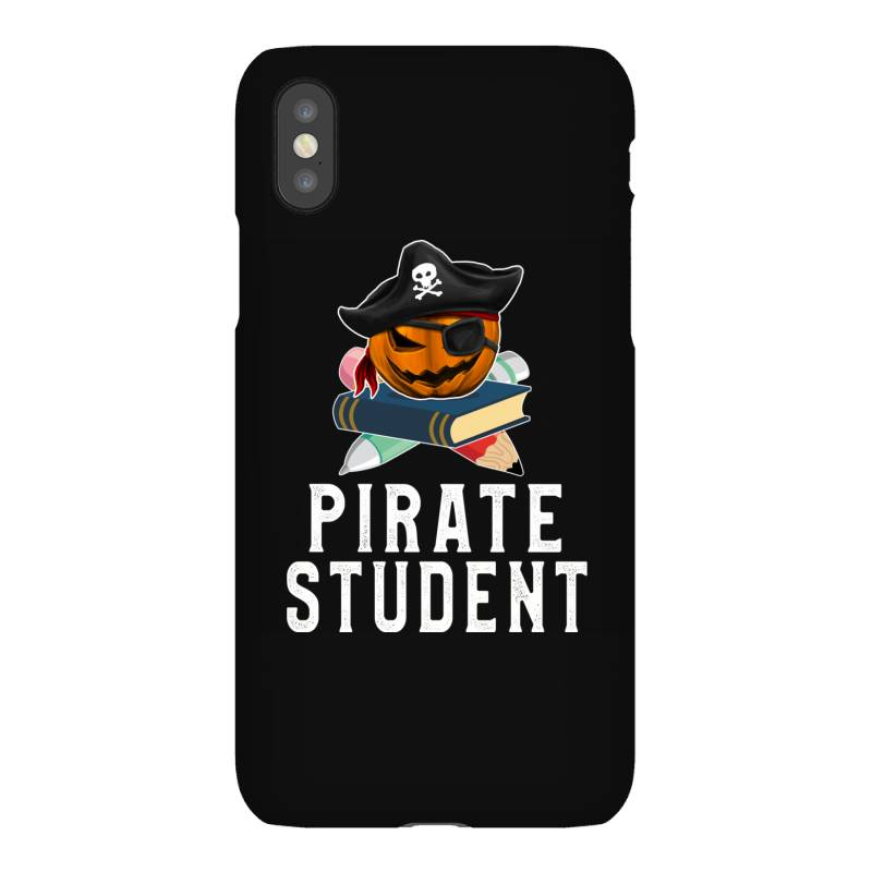 Pirate Student Funny Halloween Party Gift For Kids School Iphonex Case   Artistshot