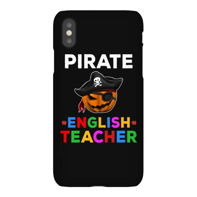 Pirate Teacher Funny Halloween Gift For English Teacher Iphonex Case | Artistshot