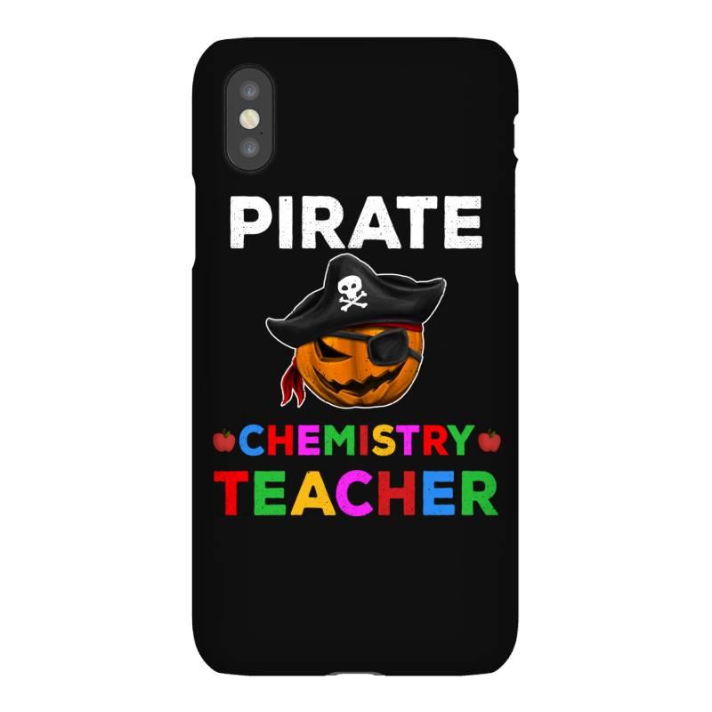 Pirate Teacher Funny Halloween Gift For Chemistry Teacher Iphonex Case | Artistshot
