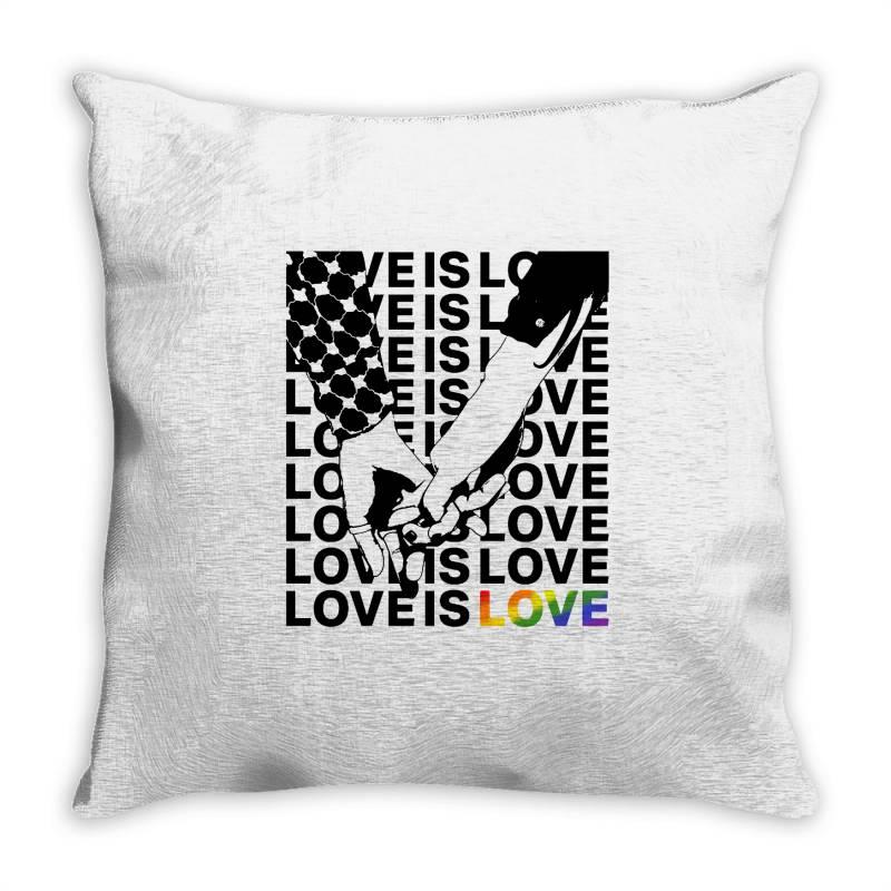 Love Is Love Throw Pillow   Artistshot