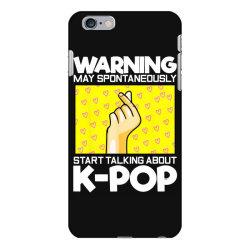 music lover korean iPhone 6 Plus/6s Plus Case | Artistshot